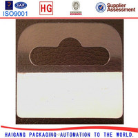 Round Hole Hanging Display Tab Euro Hole Hang Tab For Packaging