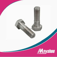 DIN 933 stainless steel hex bolt A4-70 r