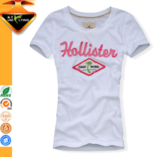Womens Fitted T-shirts Body Fit Women T-shirt With Custom Label and Tag