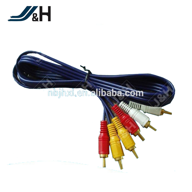 3RCA to 3RCA Audio Cable 1.6Meters