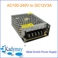 Modern&Switching 12V 3A AC/DC Power Supply, By best Manufacturer&Supplier