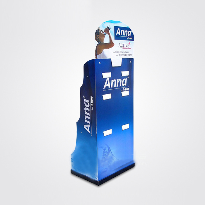 The lowest price hand chain cardboard display with fast delivery