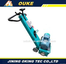 OKX-250E Concrete road planer floor concrete surface scarifying,Electric asphalt scarifying and milling machine