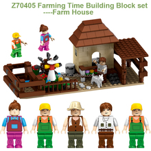 High quality educational plastic connecting building blocks toys Z70405 with blocks mini figures