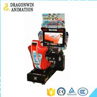HD video games out run car driving simulator arcade racing car game machine