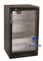 110V 60HZ WEILI Factory Price Self Colse Door Under Counter Back Bar Display Wine Fridge