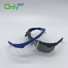 CE 2016 Lens transparent safety goggles chemical protective glasses