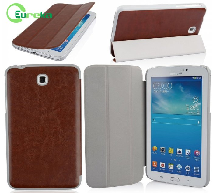 Wholesale latest design shockproof leather tablet case for Samsung Galaxy Tab 3 7.0(T210)