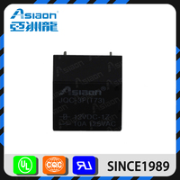 Asiaon miniature type jqc-3f t73 pcb 5 pin 24 volt dc relay