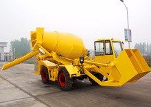 Small Cement Mixing Loader Concrete Mixer Truck Parts