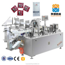 AWP-250 Fully Automatic Wet Wipes/Alcohol Prep Pads Packing Machine(dustproof packing) Made In China For Sale
