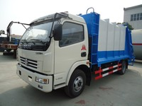 new design 5m3 garbage truck dimensions