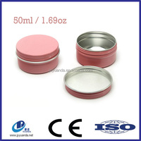 Mini Round Tin Cans/Metal Cans for Lid Blam/Tin Can for Cosmetic