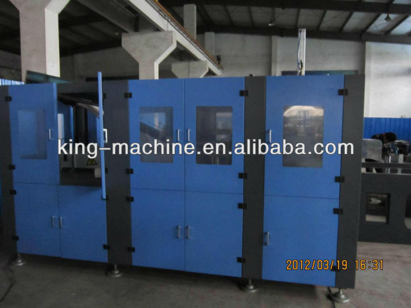 Automatic Plastic Bottle / Bucket / Barrel Blow Moulding Apparatus KING MACHINE