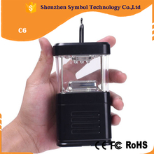 Led Solar Camping Light Plastic Rechargeable Lantern Camping Equipment