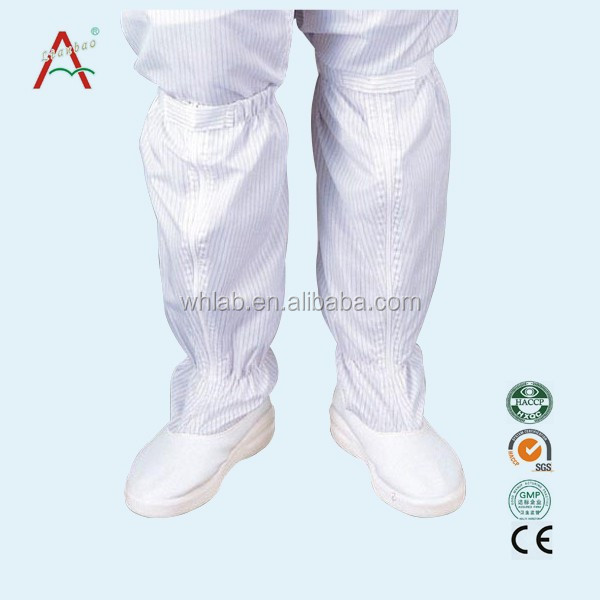 cleanroom gloves for feet safety shoes /disposable rain shoe cover