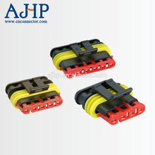 4 pin male female electrical wiring harness car connector for AMP