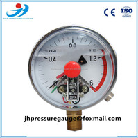 electric contact pressure gauge, high pressure gauge, water pressure gauge