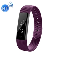 Convient hot sales ID115 0.86 inch OLED Display Blue-tooth Smart Bracelet, IP67 Waterproof, Support Pedometer Calls Remind