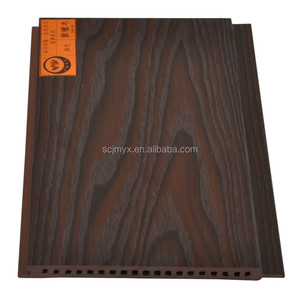 Manufacturer Ecological Wood Plastic WPC Wall Cladding Board