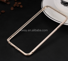 With Buttons Metal Aluminum Arc Case Bumper case for iPhone 5 5S for iPhone 6 / 6 plus metal bumper