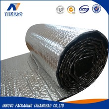 Aluminum foil air bubble insulation for container liner and pallet cover