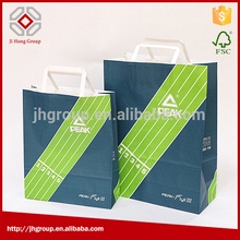 Factory supply best quality kraft small brown paper bags with handles