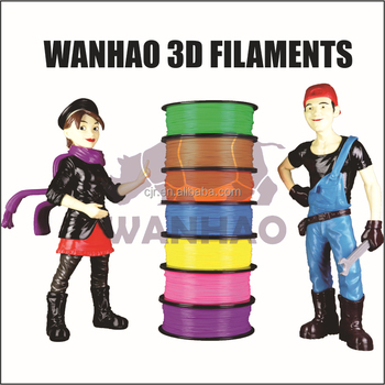 Original High quality WANHAO abs 3d printer filament ABS FILAMENT 3D PRINTING MATERIAL