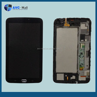 LCD and touch assembly with frame Samsung GALAXY Tab 3 7.0 T210 black