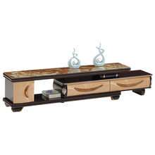 French Living Room Stand New Model Wooden Showcase Design Lcd Tv Set Furniture