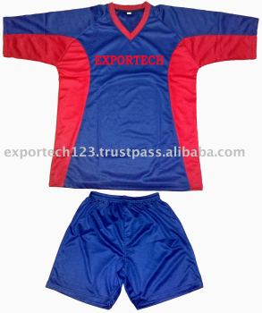 100% Micro Interlock Soccer kit