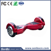 Factory Wholesale 8 inch 2 wheel electric scooter self balancing board with samsung battery