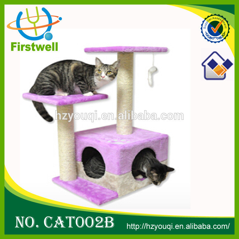 Cat Tree Scratcher Furniture Kitten House Cardboard Cat Bed
