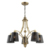 Wholesale new product 5 lamps home lighting Chandelier