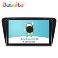 "DASAITA 10.2"" Touch Screen Android 8.0 car multimedia GPS Navigation system player without DVD for Skoda Octavia"