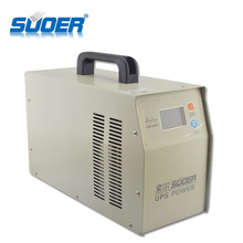 Suoer High Frequency 2KW UPS 2000 watt pure sine wave inverter 12v 220v power inverter with charger