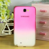 colorful plastic cell phone case for samsung galaxy note 2 N7100