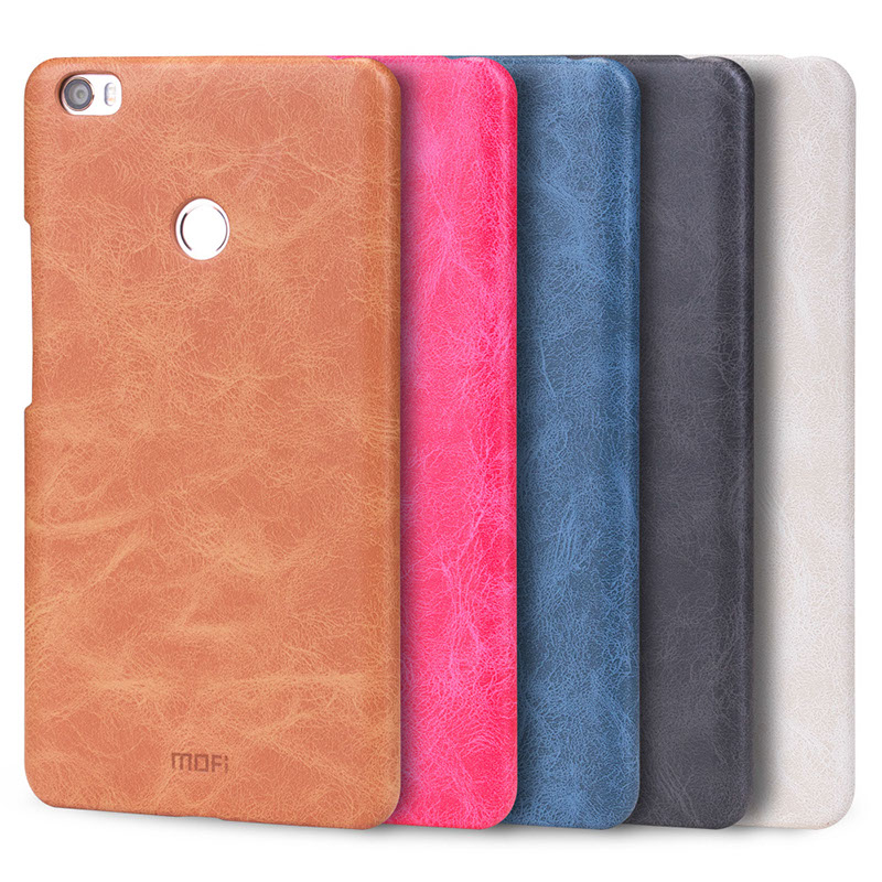 For Xiaomi Mi Max Case Cover Original Mofi PU Leather + PC Back Cover Case for Xiaomi Mi Max Xiaomi Max Phone Shell Cover Coque