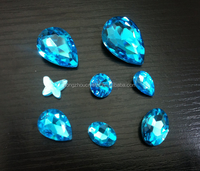 China supplier nail crystal stones for 3d nail art design stickers