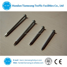 Strong concrete nails with zinc plating good quality