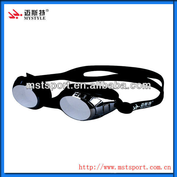 2015 fashion new M500 silicone brand goggles swimming