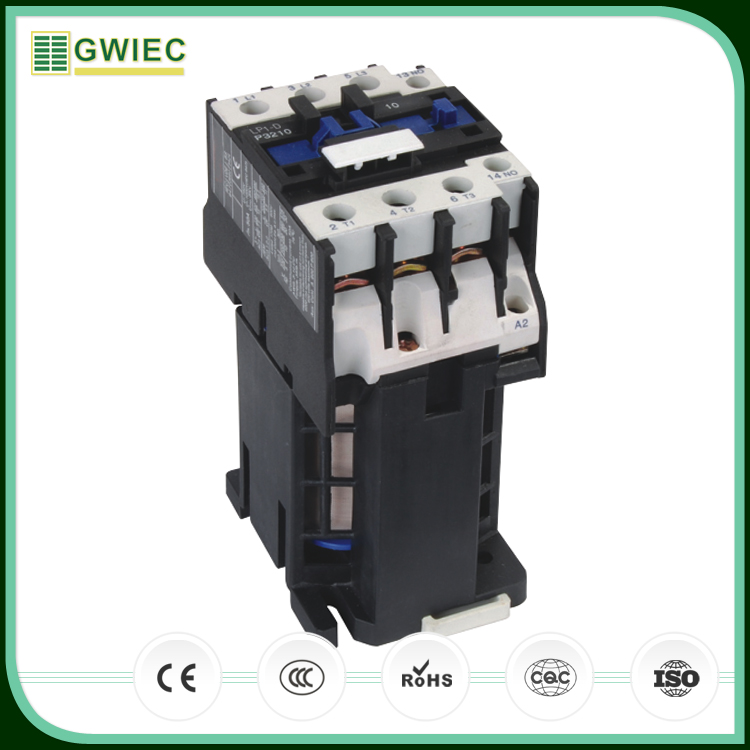 GWIEC Export Products CE Certificated Lp1-D Series DC Operated Ac Contactor 32A