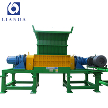 Stainless Steel double shaft industrial cardboard shredder