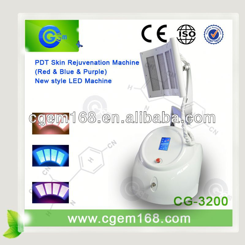 Best pdt acne removal machine for facial skin care machine