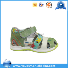 Colorful Genuine Leather High Quality Beach Party Wear Sandal Shoe For Boys
