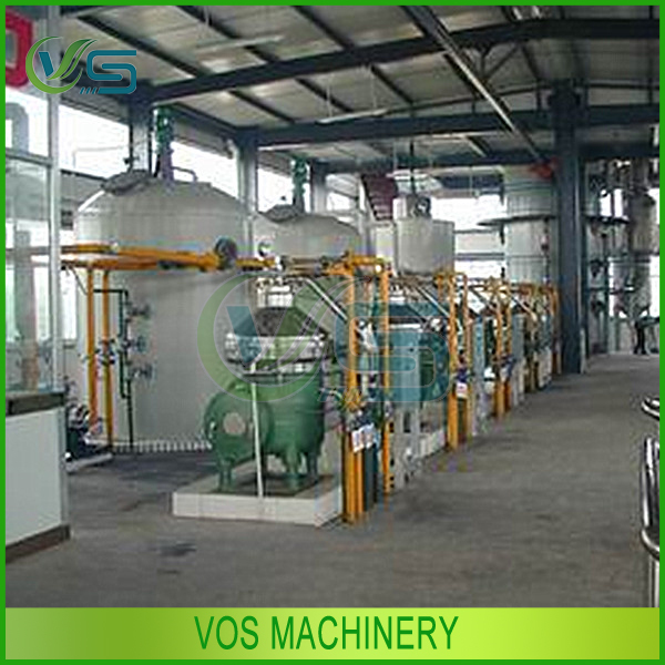 high quality oil refining production line/soybean oil refining production plant for sale