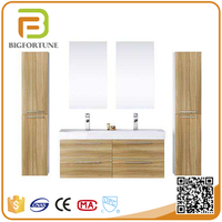 Mirrored Cabinets water proof wood bathroom cabinet