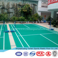 High quality badminton court floor vinyl flooring that looks like carpet
