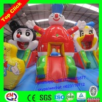 China top 10 brand Amusement inflatable bounce castle for kids