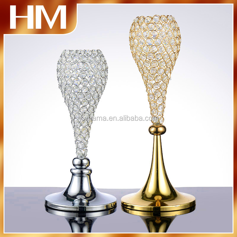 new design with high quality wedding holder /metal candle holder